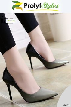 Spring Autumn High Heels scarpe Woman Elegant Thin High High Thin Heels Pointed   a24091