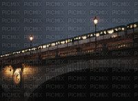 Paysage.Nuit.Train.Victoriabea Stamp, Train, Night, Landscape, Stamps, Strollers