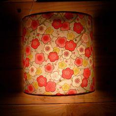 Luminaire applique murale 20 cm papier japonais poisson for Prix poisson rouge 15 cm