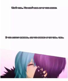 Manhwa // Manga // Kubera // Leez / Yuta // leez is actually remember that yuta tired to eat (kiss) her // kyaa,.. finally it become more romantic and tragic //