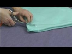 #5 No-Sew Fleece Ponchos : Cutting the Neck Hole for a Child's Poncho