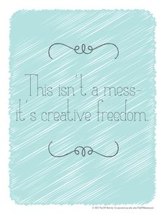 creative mess free printable Hehe to hang on room door