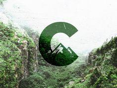C Logo / Mark / Mountains by Teodor Decu in Logo design Mountain Images, Mountain Logos, Corporate Design, Peak Logo, Outdoor Logos, Resort Logo, Wood Logo, City Logo, Travel Logo