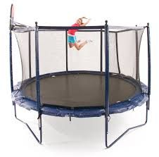 JumpSport Elite StagedBounce Trampolines - 10ft, 12ft, and 14ft sizes. All of the Elite Brand Unitized Systems include our high quality trampoline and easy to assemble, internally mounted safety net. JumpSport offers a product that is high in quality and still affordable. All JumpSport Elite models are designed to be easy to install and work with all the JumpSport trampoline accessories. SwingSet Paradise Ships this and all JumpSport Trampolines FREE! Visit us today! www.swingsetparadise.com