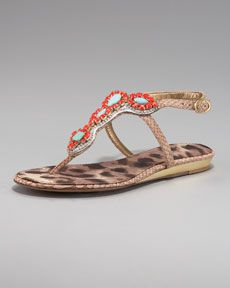 Love the color and beading on these Sam Edelman sandals