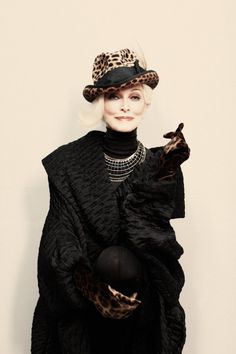 Age can have elegance : how might you express yourself in a way that's both you and elegant?