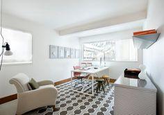 Mid Century Update midcentury home office