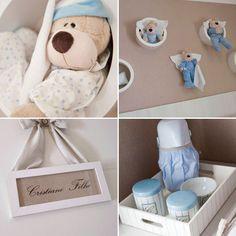 Quarto bege e azul - Constance Zahn | Babies & Kids