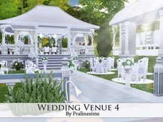 Wedding Venue 3 by Pralinesims at TSR via Sims 4 Updates