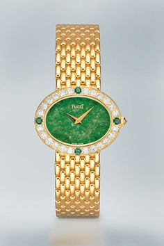 Polo Piaget gold, jade and diamonds for Jackie Kennedy