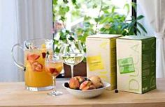 Bellini Sangria Recipe - Perfect for parties or entertaining at home  (as a pitcher – serves 8-10)    2 cups DUCA Garganega/Pinot Grigio OR Durello/Chardonnay  1 cup Peach nectar or puree  1 cup Lemonade (good quality store-bought)  1 cup Mionetto Prosecco  Directions: In a pitcher, add ingredients and stir together with plenty of ice.  Add sliced peach and strawberries to the pitcher.  Pour into large wine glasses and add fresh mint to the glass.