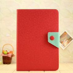 Leather Smart Cover for ipad mini Red -iphone cases Suppliers