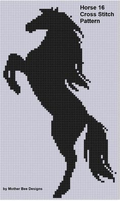 Looking for your next project? You're going to love Horse 16 Cross Stitch Pattern  by designer Motherbeedesigns. - via @Craftsy