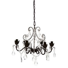 Chantilly 6-Arm Chandelier by Cafe Lighting   Zanui