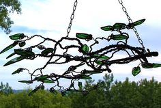 Art Of Glass, Nature Tree, Tree Designs, Stained Glass, Trees, Leaves, Website, Amazing, Creative