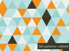 Repeating Triangular Pattern