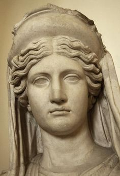 Demeter (Ceres) Ludovisi. Rome, Roman National Museum, Palazzo Altemps.