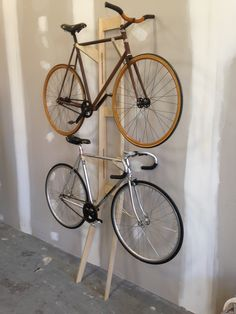 Ply bike rack.