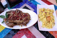 Agnello persiano con chelow ricetta