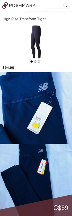 Brand new New Balance Tight Brand new! Tag still on! Never worn Size S. New Balance Pants Leggings New Balance Blue, Dark Navy, Colorful Leggings, Pants For Women, Tights, Brand New, News, Closet, Things To Sell