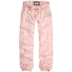 Abercrombie & Fitch > Women > Fleece Pants/Shorts found on Polyvore