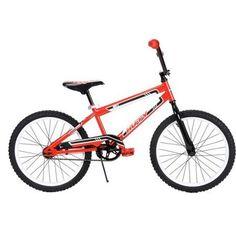 Huffy 20`Boys' Rock It Bike Red and Black Oversized Frame Gift Ideas Free Shipp! #Huffy