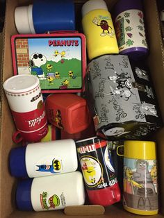 Lot 900: Lunchbox, Thermos and Mug Assortment;