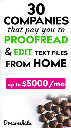 30 Websites To Find Freelance Editing And Proofreading Jobs - Dreamshala Online Work From Home, Work From Home Jobs, Make Money From Home, Way To Make Money, Extra Cash, Extra Money, Proofreader, Job Work, Best Blogs