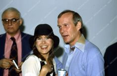 great candid Carrie Fisher Tom Smothers at some event 35m-35m-4186
