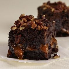 Godiva chocolate pecan brownies