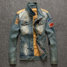 69f78800acc1 Willstyle Men s Retro Style Denim Jacket – WILLSTYLE Retro Fashion