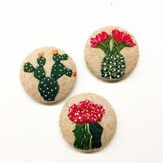 Там будет больше #cactus #embroidery #pin #brooch #handmade #stitch #etsy #creamente #nature # nakış #bordado #nature #cactusmagazine #new #cacti