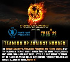 The Hunger Games Against Hunger