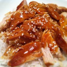 Slow Cooker Orange Sesame Chicken