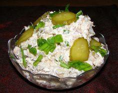 W Mojej Kuchni Lubię.. : pyszniutka makrela z majonezem,kiszonym ogórkiem i...