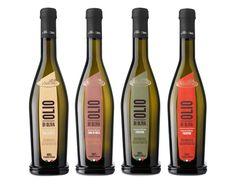 Linea Olii monovarietali // Frantoio Oleario Mancino #olive #oil #packaging #label #design