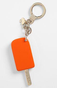 Kate Spade New York Orange Popsicle Keychain