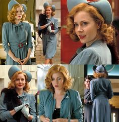 """""""Miss Pettigrew Lives For A Day"""" movie costumes! The movie is set in London in 1939."""