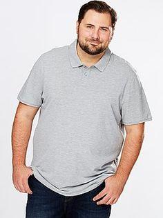 Sizes Polo man comfort cotton pique - Kiabi