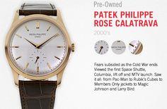 Patek Philippe Rose Calatrava #WatchStories #watches #watch #vintage #CPO