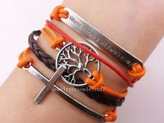 cross where there' a will there's a way & by jewelrybraceletcuff, $3.98