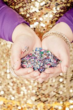 A handful of confetti with The Confetti Shop.  #BFFFTalks