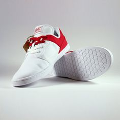 Originals Sneakers White Red, $59, now featured on Fab.