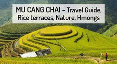Mu Cang Chai in Vietnam - fascinating area of large rice terraces. ✅ Rice terraces and fields, nature and Hmongs. ✅ Travel tips - Map - Weather - Travel guide. North Vietnam, Rice Terraces, Bus Tickets, Bus Travel, Historical Monuments, Places Of Interest, Best Sites, Hanoi, Panama