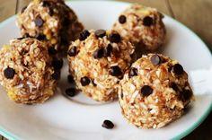 4 Ingredient Raw Cookie Dough Balls  #RenewingAllThings