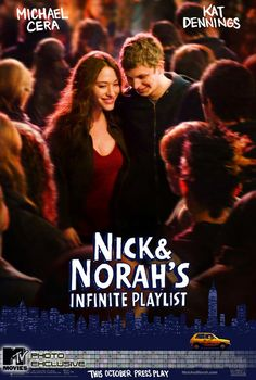 """""""Nick and Norah's Infinite Playlist"""" Nick and Norah's Infinite Playlist combines a pair of charming leads, the classic New York backdrop, and a sweet soundtrack."""