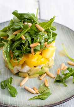 Avocado-Mango-Mozzarella-Salat Rezept Feed me up before you go-go
