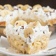 This is truly the Best Banana Cream Pie we've ever devoured! The custard is velvety, luscious, and creamy. Loaded with bananas. And flaky all-butter crust.