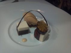 Chocolate dessert - The French Laundry
