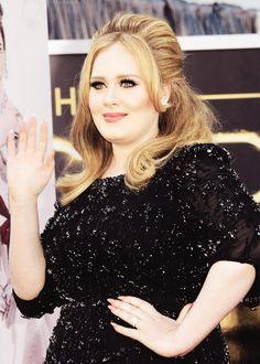 Adele Adele Oscar Adele Hits Nude Nails Sally Hansen Oscars 2013